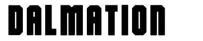Dalmation font