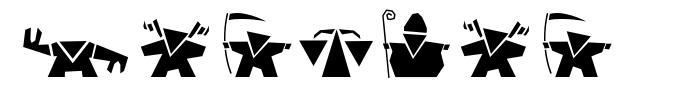 Damgram 字形