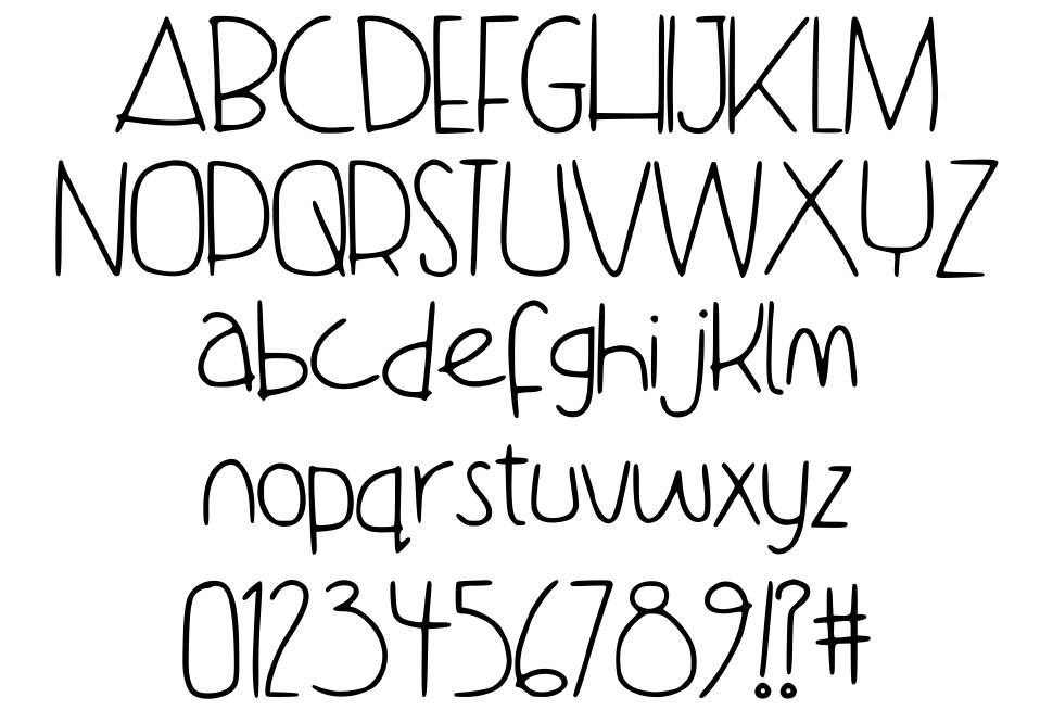 Dance With Me Tata font
