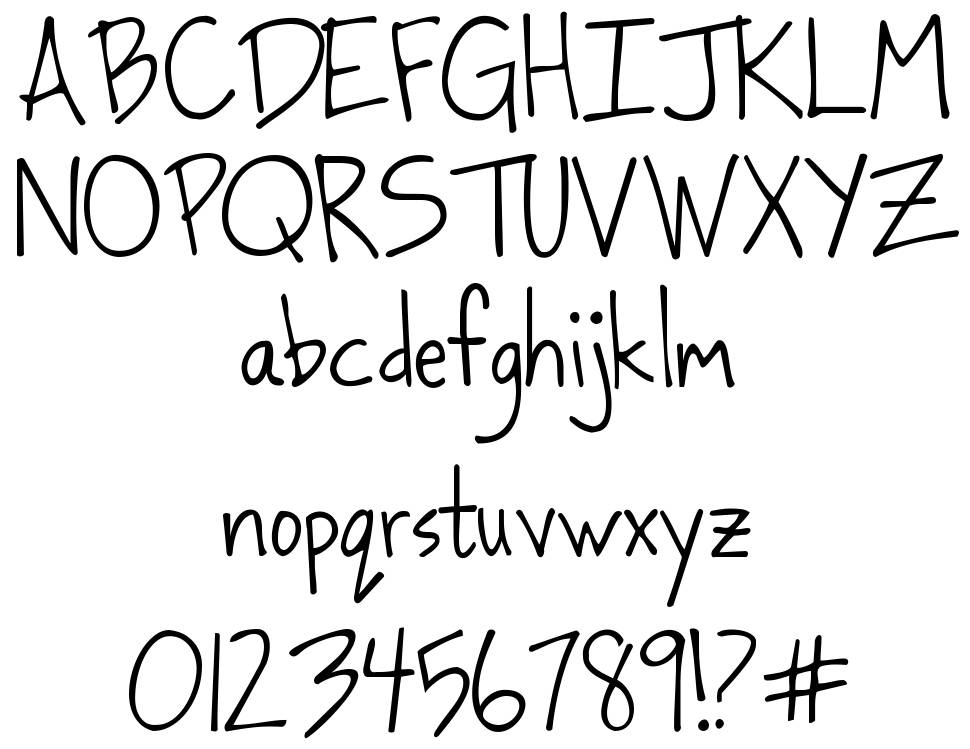 Dancing in the Minefields font