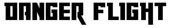 Danger Flight font