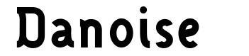 Danoise font