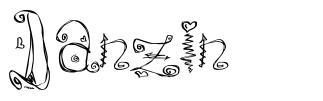 Danzin 字形