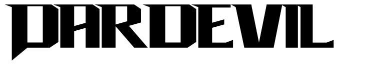 Dardevil font