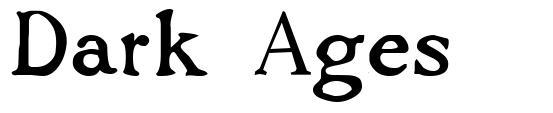 Dark Ages font