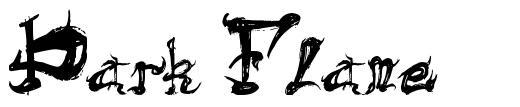 Dark Flame 字形