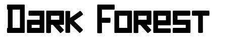Dark Forest font