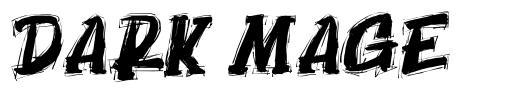 Dark Mage font