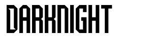 Darknight フォント