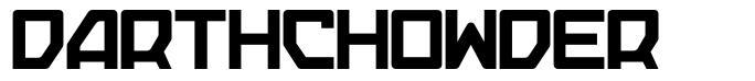 Darthchowder フォント