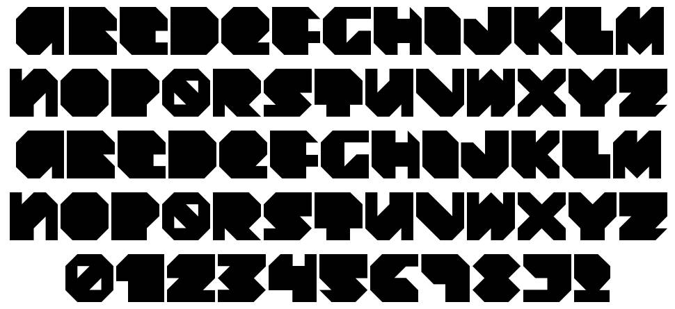 Daydream Daily font