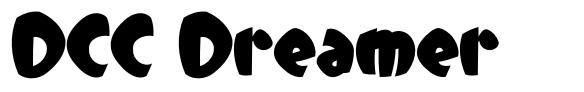DCC Dreamer font