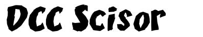 DCC Scisor font