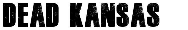 Dead Kansas font