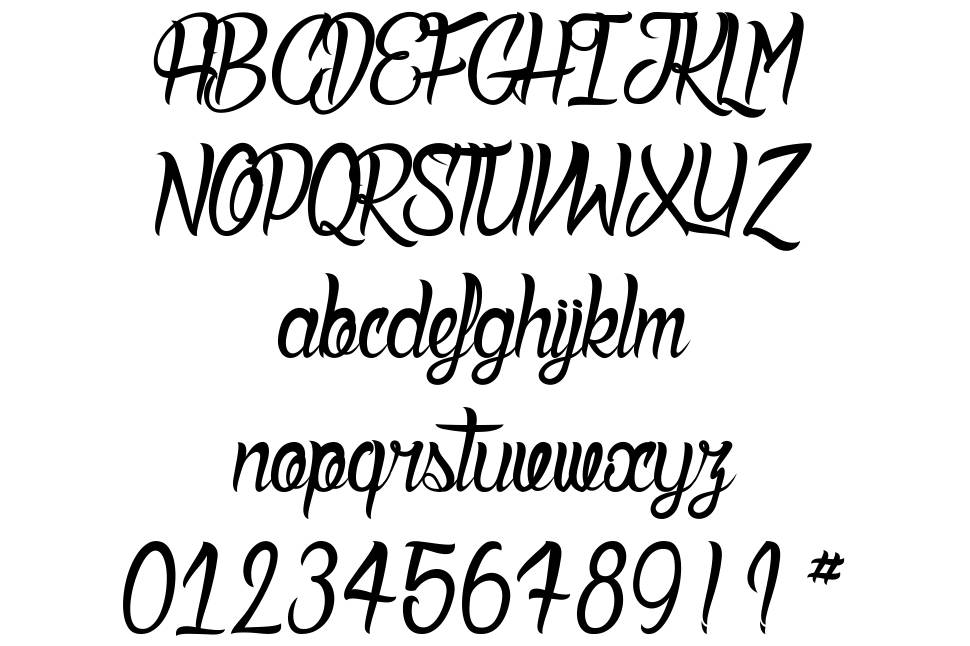 Deadly Inked font