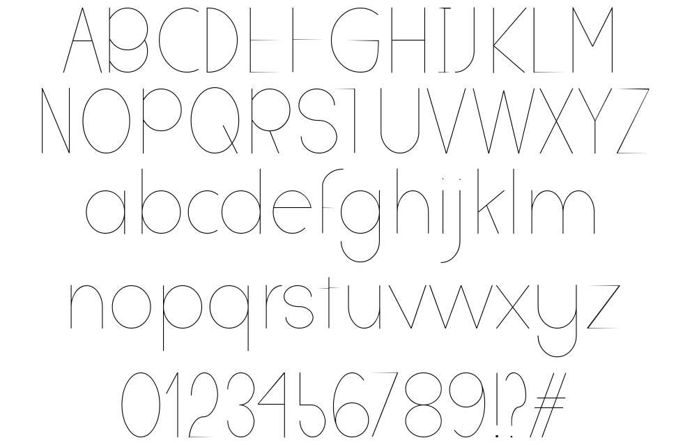 Deathay font
