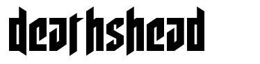 Deathshead フォント