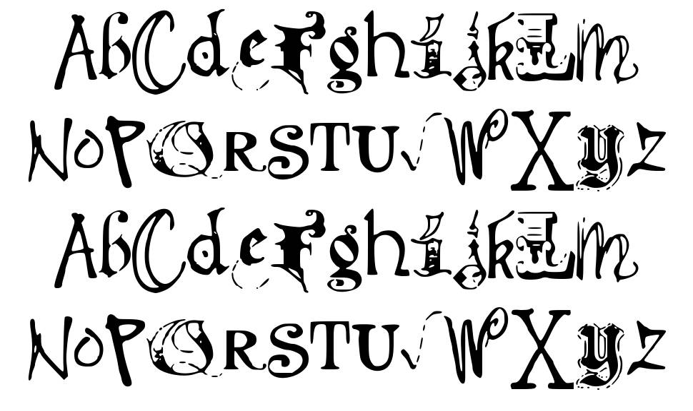 Deb Mixed Fancy font