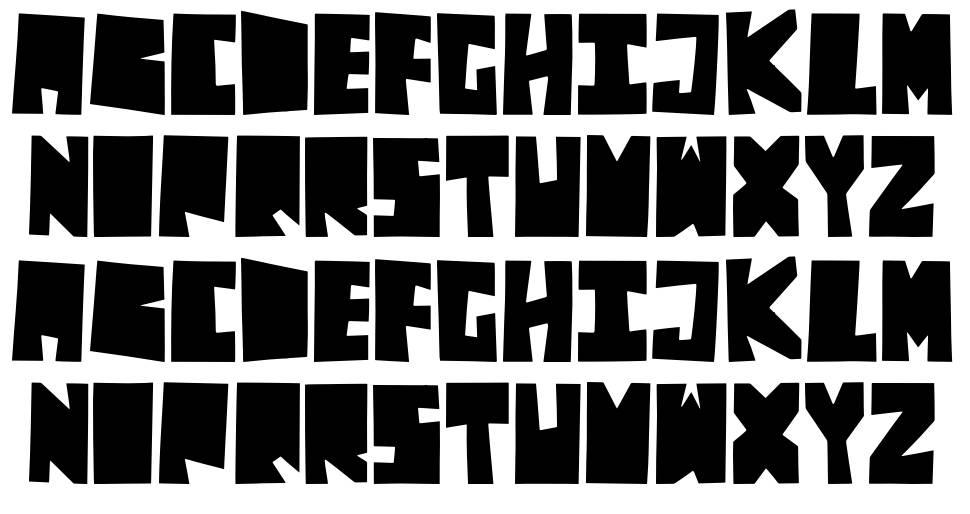 Decades шрифт