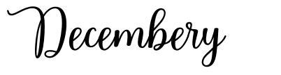 Decembery