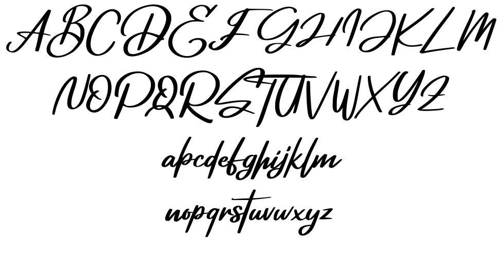 Deglas font