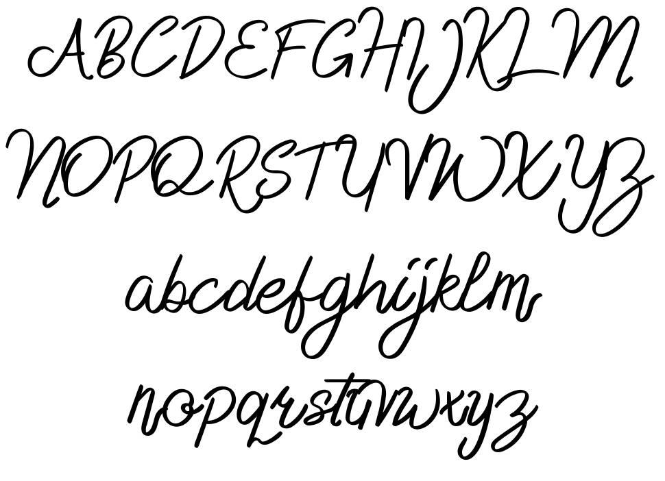Delfoo шрифт