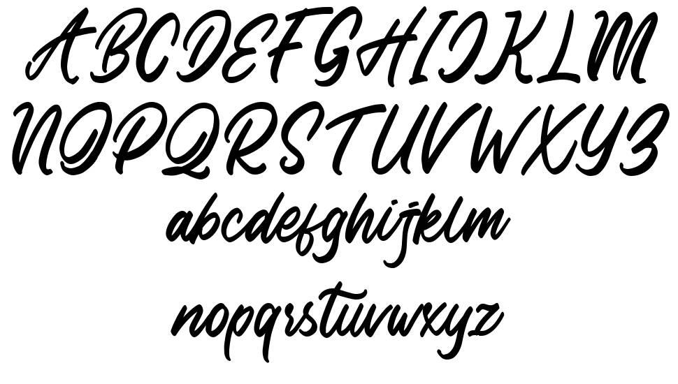 Delight Place font