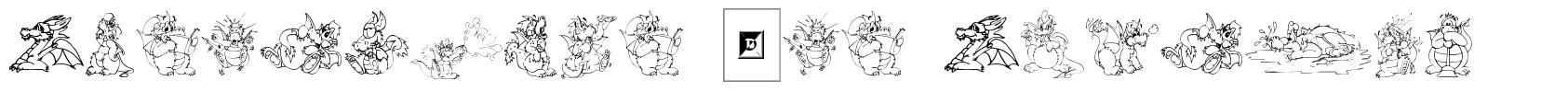 Delightful Lil Dragons font