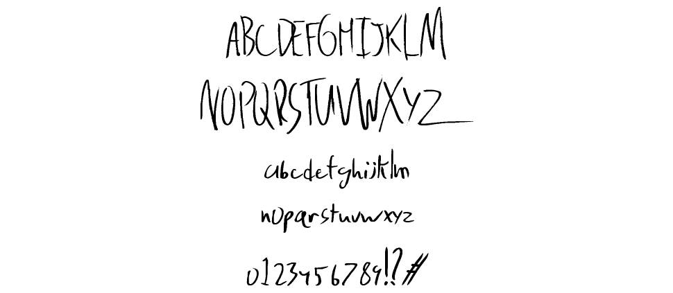 Delinquence font