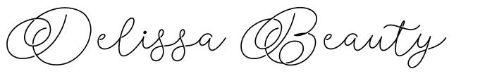 Delissa Beauty font