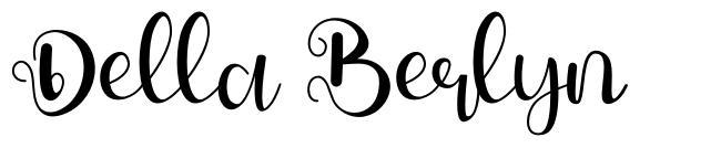 Della Berlyn font