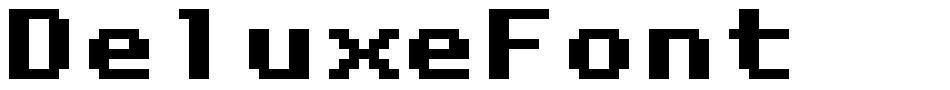 DeluxeFont font