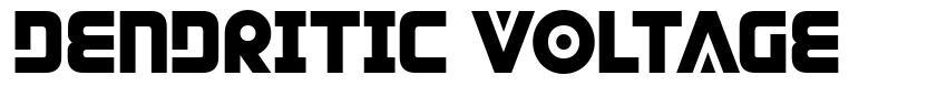 Dendritic Voltage font