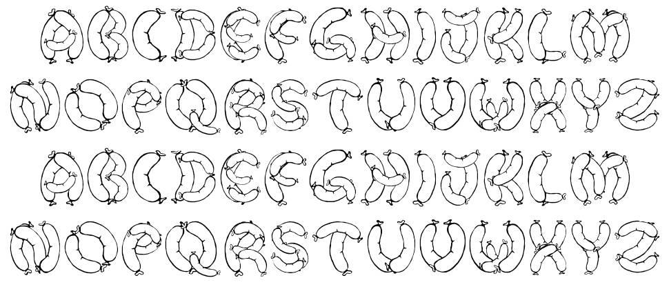 Der Wurst Font font