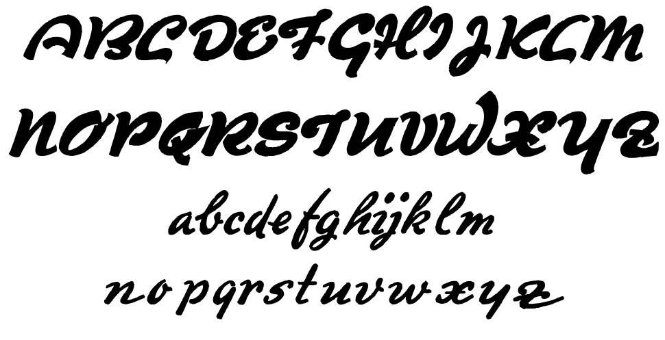 Derradeira font