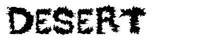 Desert font