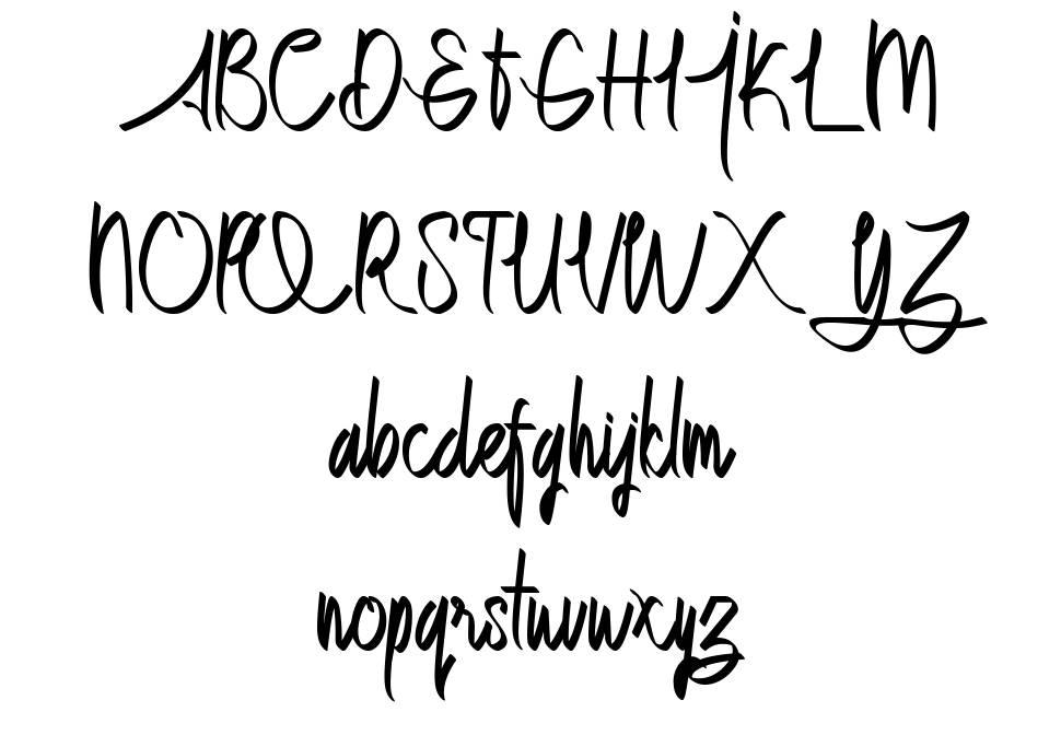 Dettallia шрифт