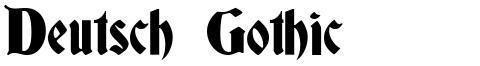 Deutsch Gothic