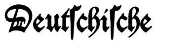 Deutschische font