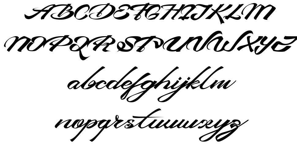 Devil East font