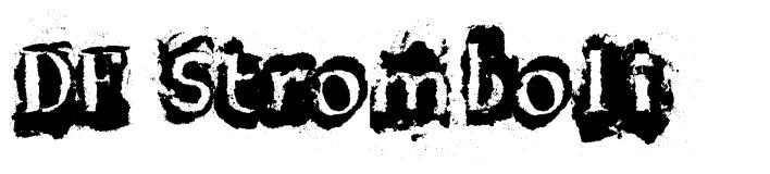 DF Stromboli font