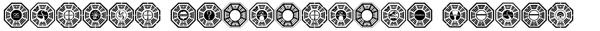 Dharma Initiative Logos font