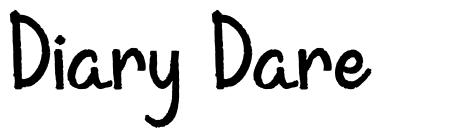 Diary Dare font