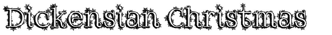 Dickensian Christmas font