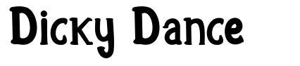 Dicky Dance 字形