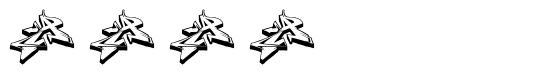 Diel 字形