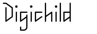 Digichild fonte
