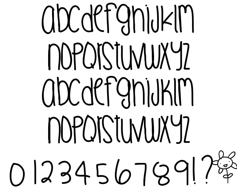 Digital Love font