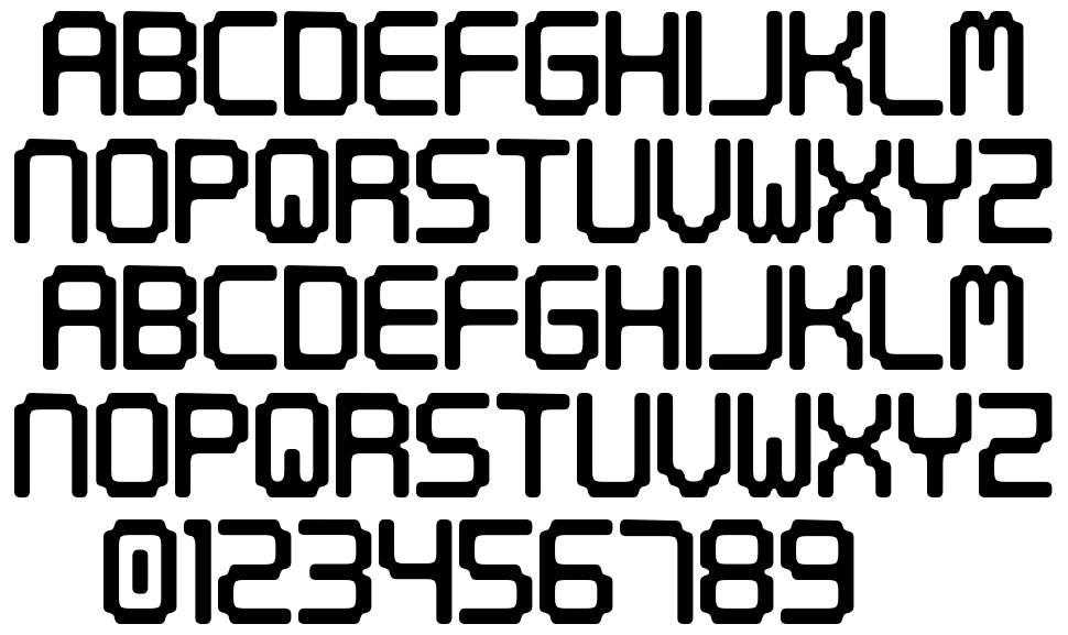 Digital Tech font