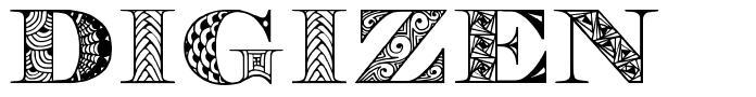 Digizen font